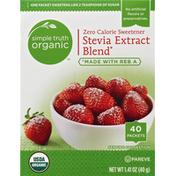 Simple Truth Organic Sweetener, Zero Calorie, Stevia Extract Blend