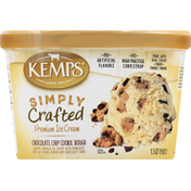 Kemps Ice Cream, Premium, Chocolate Chip Cookie Dough