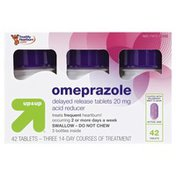 Up&Up Omeprazole, 20 mg, Tablets, Wildberry Mint