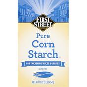 First Street Corn Starch, Pure