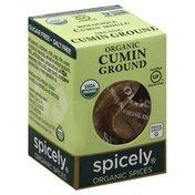 Spicely Organics Cumin, Ground, Organic