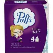 Puffs Ultra Soft Facial Tissues