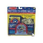 Melissa & Doug Toy, Pretend to Spend Wallet