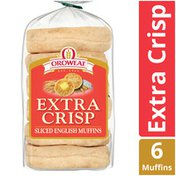 Brownberry/Arnold/Oroweat Extra Crisp English Muffins