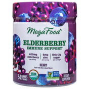 MegaFood Elderberry Immune Support* Berry Gummies