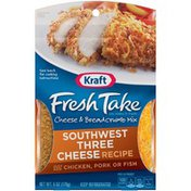 Kraft Fresh Take Southwest Three Cheese Recipe Cheese & Breadcrumb Mix
