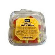 Mollie Stone's Gummi Peach Rings