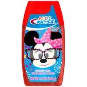 Crest Minnie Mouse Cinnamon Mint Flavor Liquid Gel Kids Toothpaste