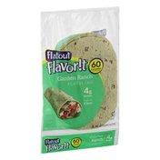 Flatout Flavor!t Flatbread Garden Ranch