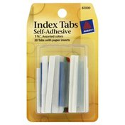 Avery Index Tabs, Self-Adhesive, Assorted Colors
