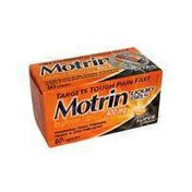 Motrin Ibuprofen Liquid Gels For Headaches