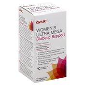 GNC Diabetic Support, Timed-Release, Women's, Caplets