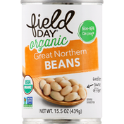 Field Day Beans, Organic, Great Northern
