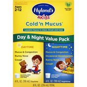 Hyland's Cold 'n Mucus, Day & Night Value Pack