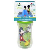 The First Years Sippy Cup, Insulated, Mickey Mouse, 9 oz, 9m+
