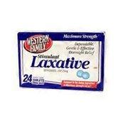 Western Family Maximum Strength Laxative 25 mg