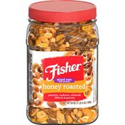 Fisher Honey Roasted Mixed Nuts with Peanuts