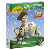 Crayola Coloring Pages, Mini, Disney-Pixar Toy Story