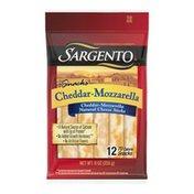 Sargento® Natural Blends Cheddar-Mozzarella Sticks Cheese