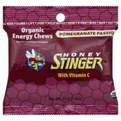 Honey Stinger Energy Chews, Organic, Pomegranate Passion