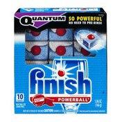 Finish Quantum Powerball Automatic Dishwasher Detergent - 10 CT