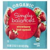 Simply Balanced Fruit Spread, Organic, Strawberry