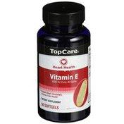 TopCare Vitamin E 1000 Iu Pure Dl-alpha Supports Heart, Circulatory, Immune & Skin Health Dietary Supplement Softgels