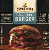 Sweet Earth Veggie Burger, Santa Fe