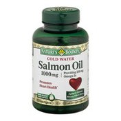 Nature's Bounty Cold Water Salmon Oil Dietary Softgels - 120 CT