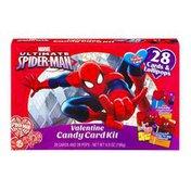 Marvel Ultimate Spider-Man Valentine Candy Card Kit - 28 CT