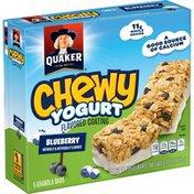 Quaker Chewy Yogurt Bluberry Granolabars