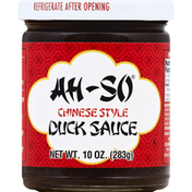 Ah-so Duck Sauce, Chinese Style
