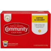 Community Coffee Coffee & Chicory Single Serve Cups