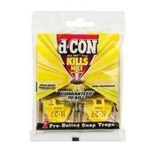 d-CON All Set Pre-Baited Non-Poisonous Snap Traps - 2 CT