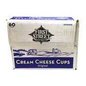 First Street Cream Cheese Cups