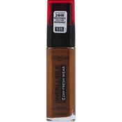 L'Oreal Foundation, Sunscreen, Espresso 535, Broad Spectrum SPF 25