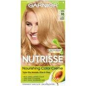 Garnier Nourishing Hair Color Creme, 93 Light Golden Blonde (Honey Butter)