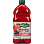Old Orchard Organic 100% Wild Berry Juice