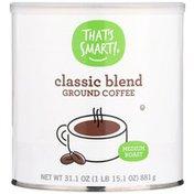 That's Smart! Medium Roast Classic Blend Ground Coffee