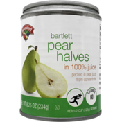 Hannaford Pear Halves in Juice