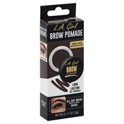 L.A. Colors Brow Pomade, Smudge-Proof, Water-Resistant, Dark Brown GBP365