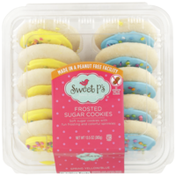 Sweet P's Frosted Spring Yellow/Blue Sugar Cookies
