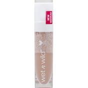 wet n wild Lipstick, High-Shine, Liquid Catsuit, Caught You Bare-Naked 940B