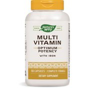 Nature's Way Multivitamin with Iron