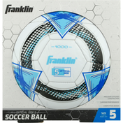 Franklin`s Teleme Soccer Ball, Official Size 5, Ages 13+