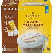 Gevalia 2-Step Caramel Macchiato Expresso K-Cup® Coffee Pods & Froth Packets Kit