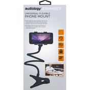 Audiology Phone Mount, Universal Flexible