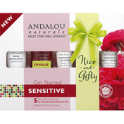 Andalou Naturals Skin Care Essentials, Sensitive