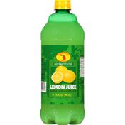 Michigan Valley Juice, Lemon, Reconstituted