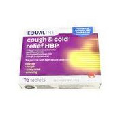 Equaline Cough & Cold Relief HBP